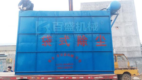 脱硫专用布袋除尘器的应用