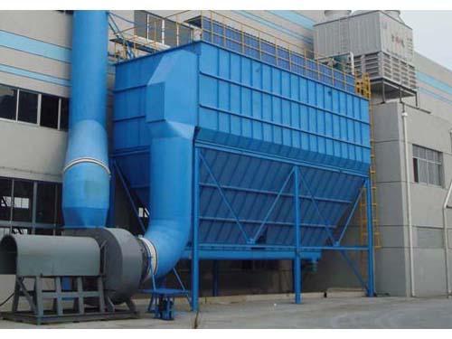 重庆化肥厂袋式除尘器的技改工程
