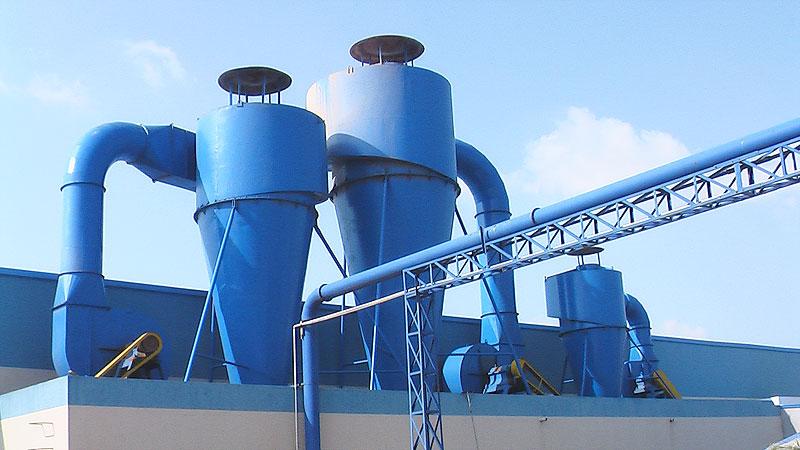 浅析旋风除尘器的工作原理